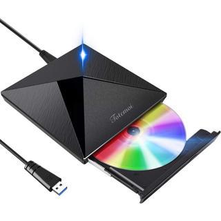 DVDドライブ USB3.0 外付けCDドライブ