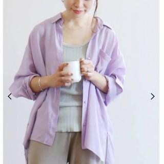 IENA - IENAエアドレープシャツ