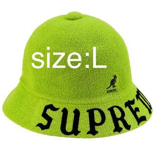 シュプリーム(Supreme)のSupreme Kangol Bermuda Casual Hat L(ハット)