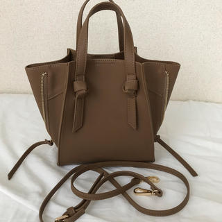 IENA SLOBE - SLOBE IENA ミニサイドファスナーハンドバッグ