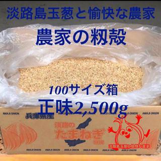 家庭菜園に!淡路島農家の籾殻 もみ殻 もみがら(2,500g)播種 プランター(プランター)