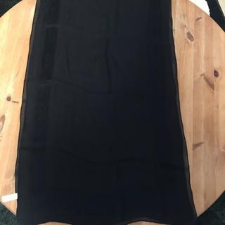 イヴサンローランボーテ(Yves Saint Laurent Beaute)のイブサンローラン シースルー ブラック スカーフ(バンダナ/スカーフ)