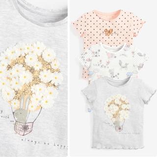 ネクスト(NEXT)の新品❣️ネクスト Tシャツセット グレー バニー(Tシャツ)