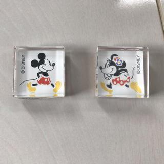 ディズニー(Disney)のミッキーマウス☆スタンプ2個セット☆はんこ(はんこ)