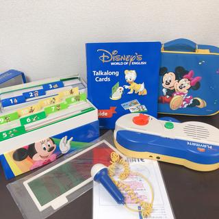 Disney - DWE  両面デジタル プレイメイト&トークアロングカード