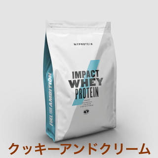 MYPROTEIN - マイプロテイン1kg IMPACTホエイプロテイン クッキーアンドクリーム