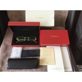 Cartier - 新品 カルティエ/750 K18イエローゴールド/メガネ/サングラス/ビッグC
