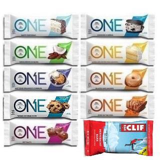 ◆ONE BAR ワンバー&クリフバー プロテインバー栄養バー10本セット