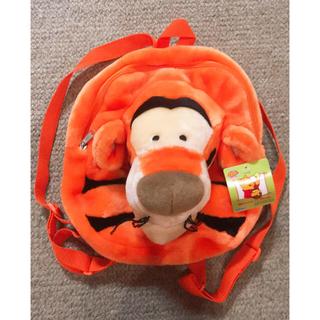 ディズニー(Disney)の未使用 ティガー リュック バッグ ぬいぐるみ ディズニー くまのプーさん(リュックサック)