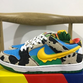 NIKE - 26cm Nike Dunk Low Ben Jerry's SB
