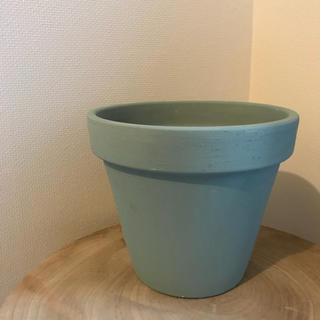 テラコッタリメイク鉢  モスグリーン(プランター)