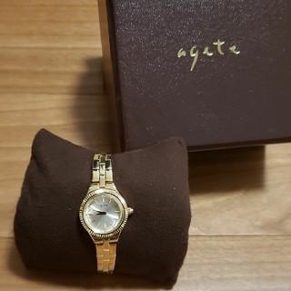 agete - 【未使用近い】agete アガット ジュエリーウォッチ 腕時計