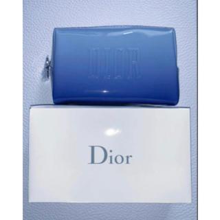 Dior - Dior ポーチ ブルー グラデーション