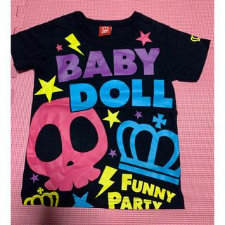 BABYDOLL - BABYDOLL♡ドクロTシャツ110 新品
