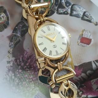 Gucci - 綺麗 グッチ 新品ベルト ブレス レディースウォッチ 時計 ローマン 夏に 美品