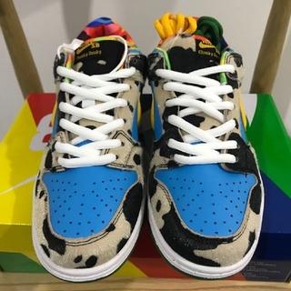 NIKE - 28cm Nike Dunk Low Ben Jerry's SB