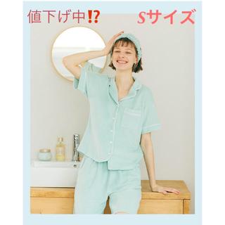 GU - ジーユー パイルパジャマ 半袖 ミント