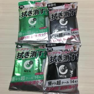 シセイドウ(SHISEIDO (資生堂))の資生堂 エージーデオ24メン メンズボディーシート 制汗シート計4個セット 新品(その他)
