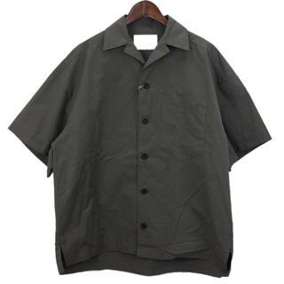 kolor - Kolor/カラー 19ss オープンカラーシャツ
