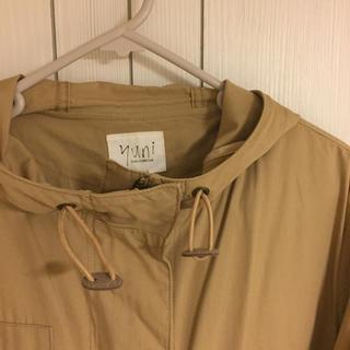 bulle de savon - yuni ベージュのコート