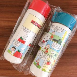 ピーナッツ(PEANUTS)の 【2個セット】スヌーピー ドリンクボトル500ml(弁当用品)