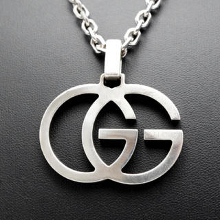 Gucci - GUCCI グッチ GGモチーフ ロゴ シルバー ネックレス SV925