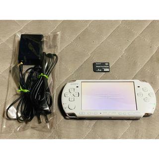 プレイステーションポータブル(PlayStation Portable)の専用出品 PSP-3000 ホワイト 美品 送料無料 ①(携帯用ゲーム機本体)