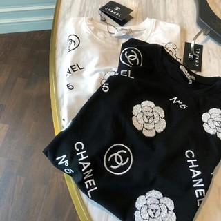 CHANEL - シャネル 長いセクション 半袖Tシャツ