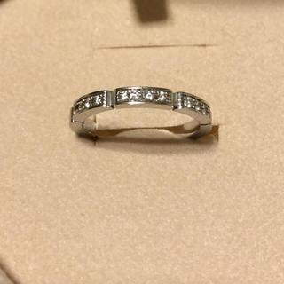 カルティエ(Cartier)のカルティエ マイヨンパンテールリング✩ハーフダイヤ✩ダイヤモンド12個付き✩.(リング(指輪))