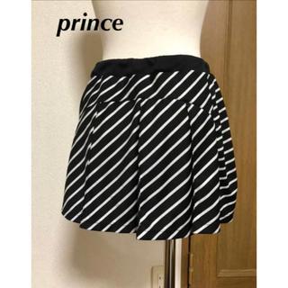 プリンス(Prince)のプリンス テニススコート黒 L(ウェア)