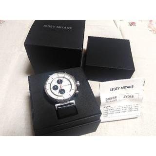 イッセイミヤケ(ISSEY MIYAKE)のISSEY MIYAKE イッセイミヤケ W 腕時計 クロノグラフ  (腕時計(アナログ))