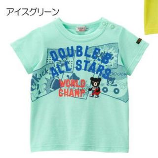 mikihouse - 130♡アメコミ♡Tシャツ♡新品♡ミキハウス♡ダブルb