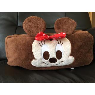 ディズニー(Disney)のミニー ボックスティッシュケース(ティッシュボックス)