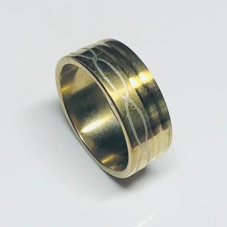 指輪 19号 ステンレスリング 015(リング(指輪))