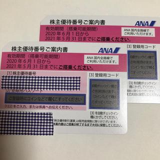 ANA(全日本空輸) - ANA全日空株主優待券 2枚