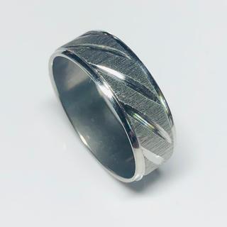 指輪 22号 ステンレスリング 023(リング(指輪))