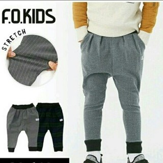 F.O.KIDS - エフオーキッズ サルエル グリーン 140130