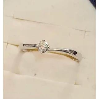 4℃ - k18 WGダイヤモンドリング