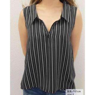 リゼクシー(RESEXXY)の新品 ノースリシャツ(シャツ/ブラウス(半袖/袖なし))
