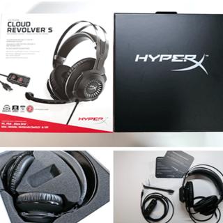 プレイステーション4(PlayStation4)のHyperX Cloud Revolver S ゲーミングヘッドセット(家庭用ゲーム機本体)