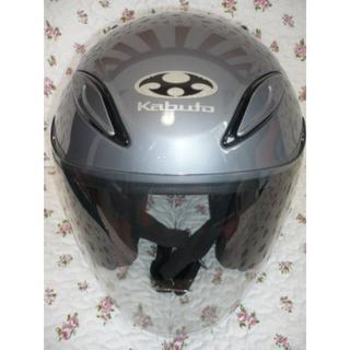 オージーケー(OGK)のOGK KabutoAVAND2sizeM57~58色シルバー中古 補修パーツ取(ヘルメット/シールド)
