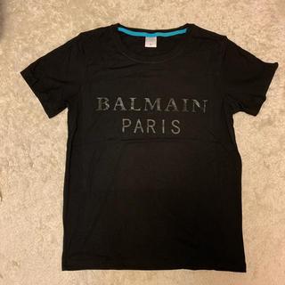 バルマン(BALMAIN)の新品未使用 BALMAIN バルマン  ロゴ Tシャツ M ブラック(Tシャツ(半袖/袖なし))