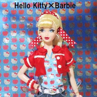 バービー(Barbie)の新品未使用バービー ハローキティ アップルツリーバービー(人形)