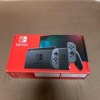 ニンテンドウ(任天堂)の【新品未開封】Nintendo Switch グレー 本体(家庭用ゲーム機本体)