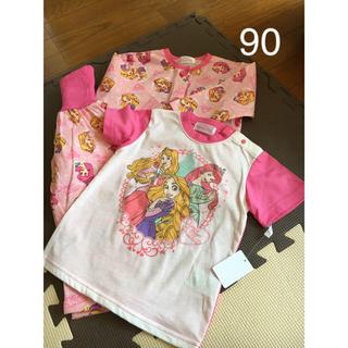 ディズニー(Disney)のディズニープリンセス パジャマ  長袖パジャマ 半袖パジャマ(パジャマ)
