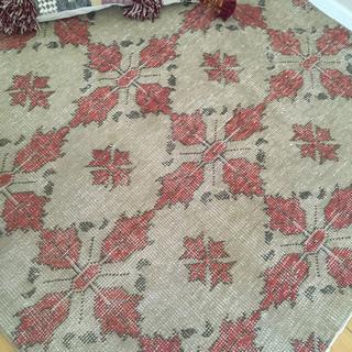 ハグオーワー(Hug O War)のヴィンテージラグ 絨毯 キリム モロッコ ハウスオブロータス(ラグ)