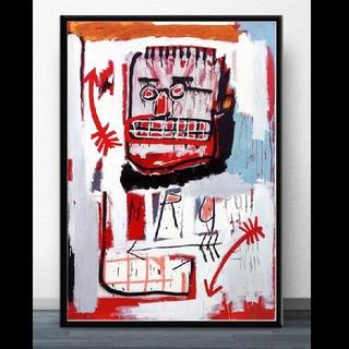 R914 バスキア ジャンミシェル キャンバス 印刷物(ポスター)
