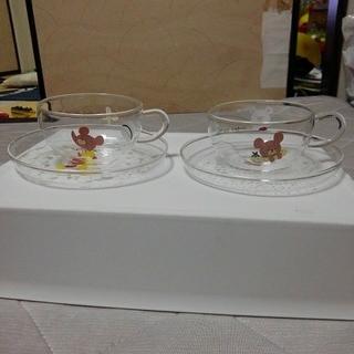 クマノガッコウ(くまのがっこう)のくまのジャッキー ティーカップ 二個セット(グラス/カップ)