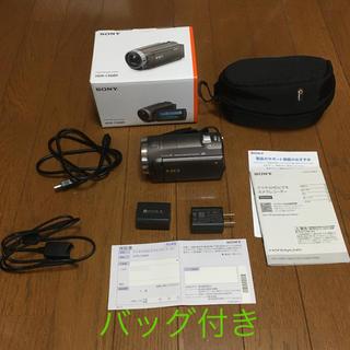 ソニー(SONY)の【美品】Sony ビデオレコーダー HDR-CX680 (バッグ付)(ビデオカメラ)