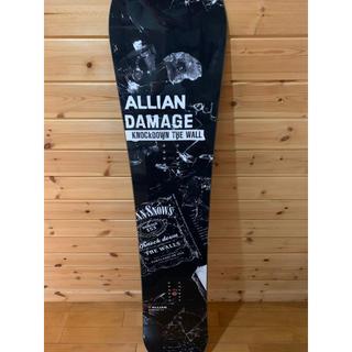 アライアン(ALLIAN)のアライアン スノーボード  ダメージ153(ボード)